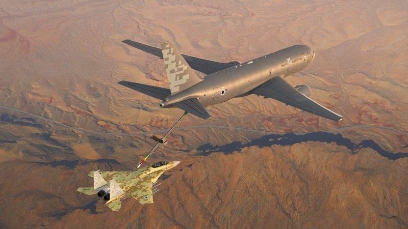 이스라엘 공군, 보잉 KC-46A 페가수스 탱커 XNUMX 척 인수