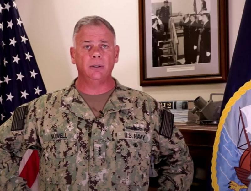 «Силы тьмы среди нас»: вице-адмирал ВМС США напомнил морякам и их семьям об уголовной ответственности за экстремизм в соцсетях