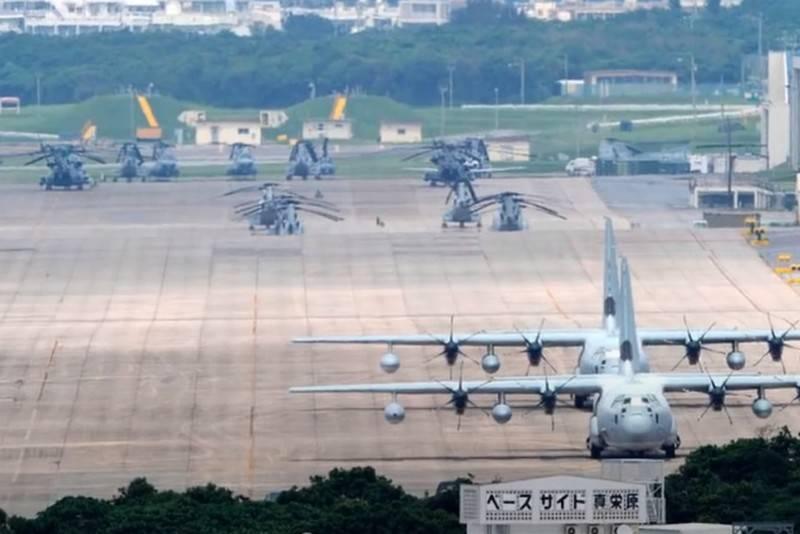 Japan hat die Wartung amerikanischer Militärbasen offiziell erweitert