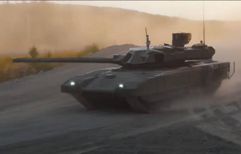 Названы новые возможности системы управления огнём танка Т-14 «Армата»