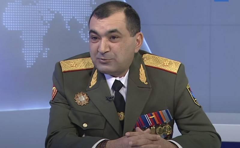 आर्मेनिया ने सशस्त्र बलों के जनरल स्टाफ के उप प्रमुख को बर्खास्त कर दिया, जिन्होंने रूसी कैंडर के बारे में पशिंयन के शब्दों की आलोचना की