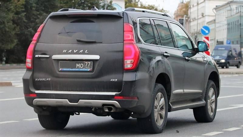 Il ministero della Difesa russo sta passando ai SUV cinesi