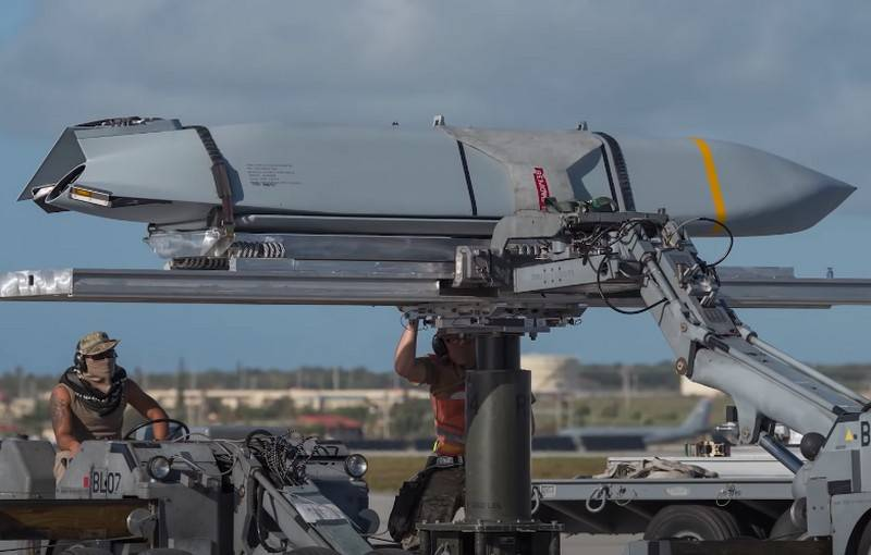 Lockheed Martin received a major contract for the production of new aircraft anti-ship missiles AGM-158C