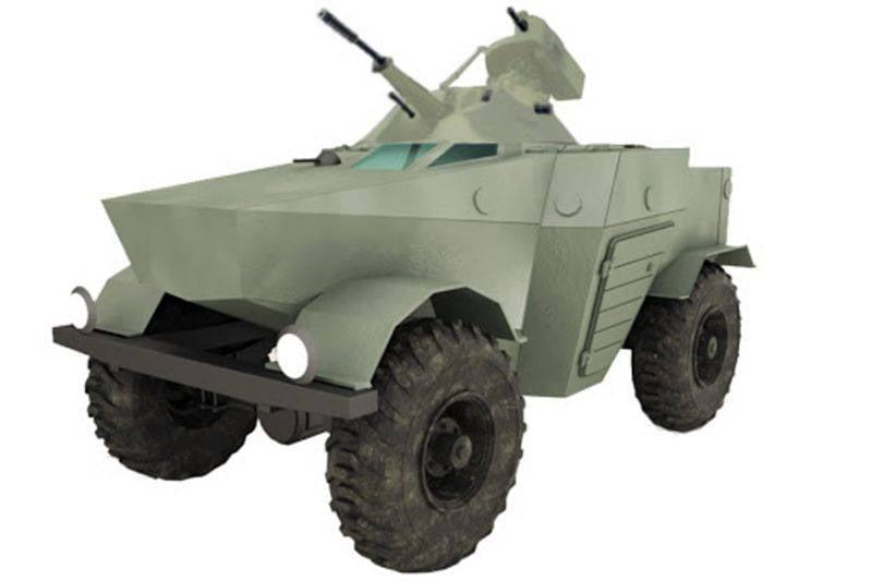 适用于Mi-8的超紧凑型装甲车