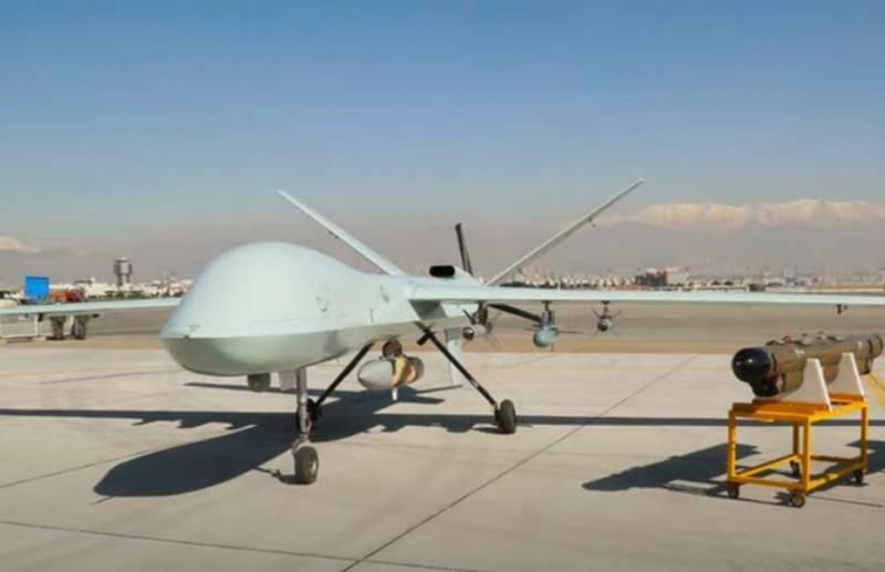 L'Iran dévoile un nouveau drone d'attaque lourde Kaman-22
