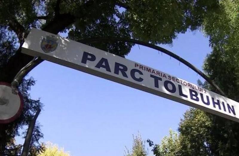 Bükreş, adını Sovyet Mareşali Fyodor Tolbukhin'in adını taşıyan parkın yeniden adlandırılmasını istedi