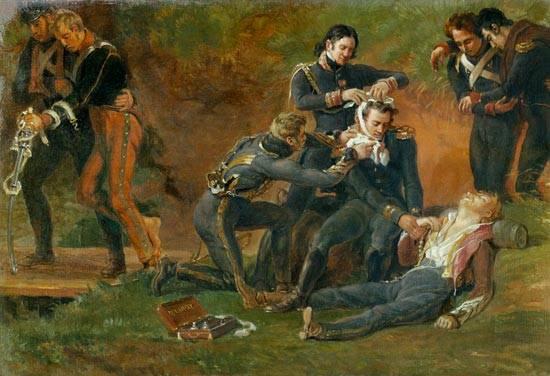 拿破仑大军的医疗服务:外科医生和有秩序的人