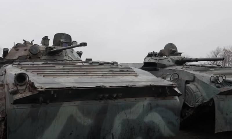 БМП-1 и БМП-2: гонки на полигоне и стрельба по целям