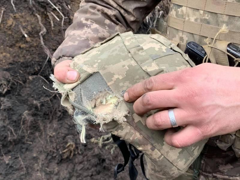 Украинский журналист: Пуля пробила шлем, мозги бойца собирали руками