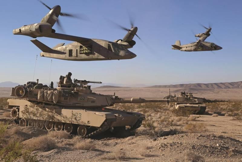 Новый участник программы FVL. ВМС США желают получить новый вертолет