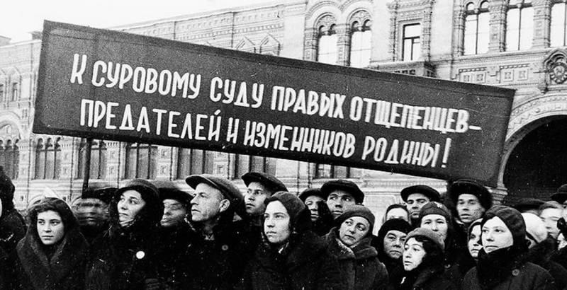 Чем руководствовался Сталин при проведении репрессий в 30-х