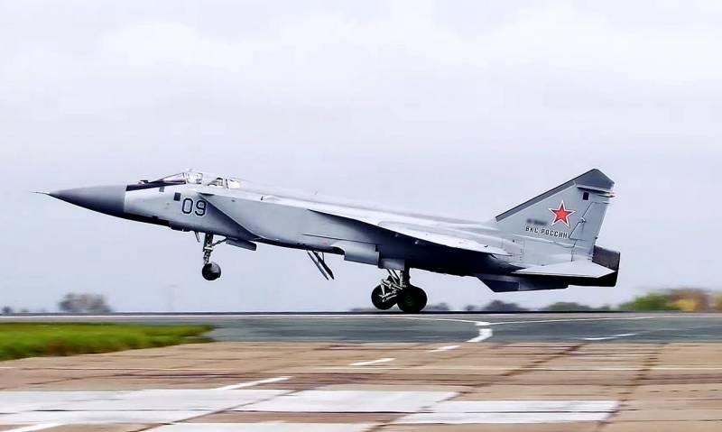«Российским военным некуда спешить»: немецкая пресса о нераскрытом потенциале МиГ-31 и создании нового перехватчика