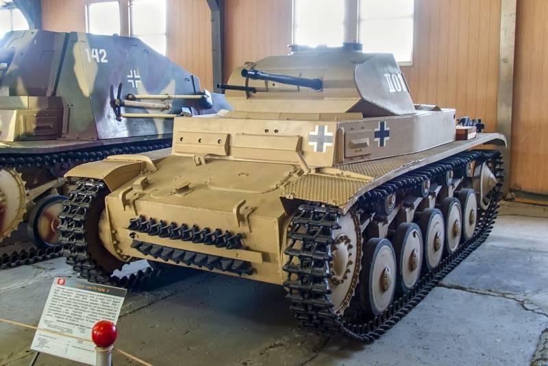 По документам разработчиков проходил как трактор: о немецком танке Panzerkampfwagen II