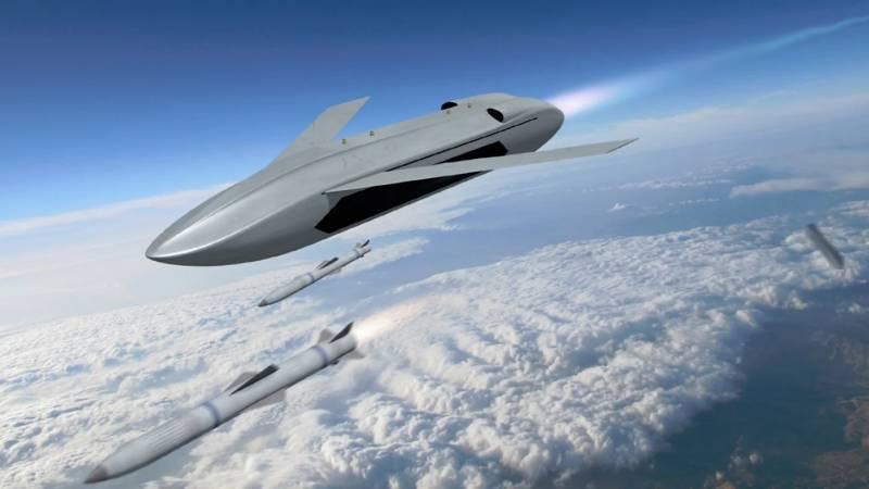 Программа DARPA LongShot. Беспилотник в помощь истребителю