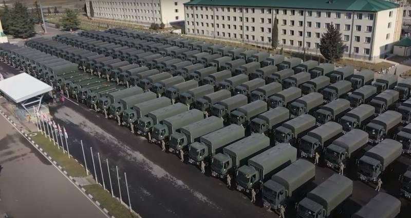Новое оружие и грузовики: грузинская армия начала очередную модернизацию