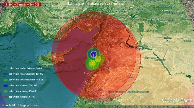 СМИ наглядно показали насыщенность ПВО авиабазы Хмеймим