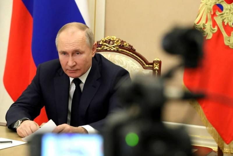 Путин высказался по поводу протестов в России