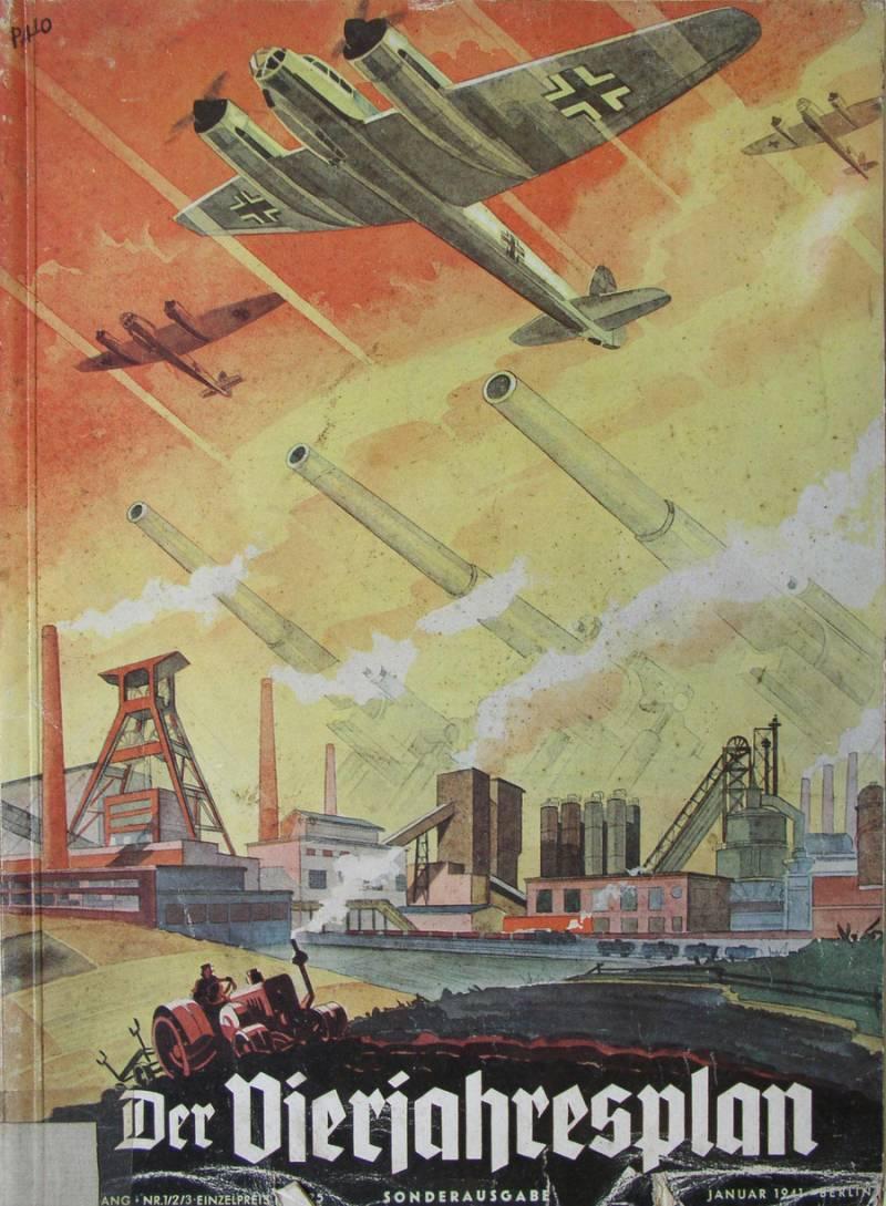 Итоги четырехлетнего плана Германии перед войной