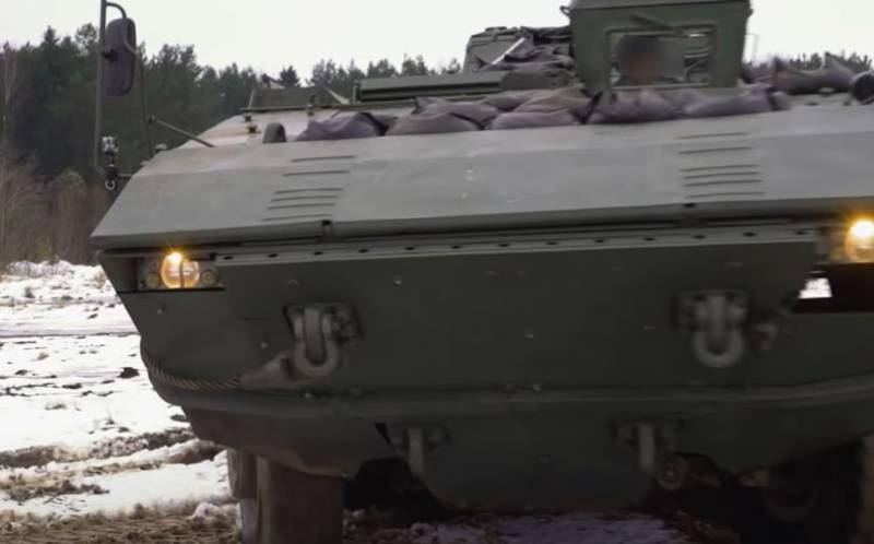 БТР-V: На Украине собираются создать аналог российского «Бумеранга»