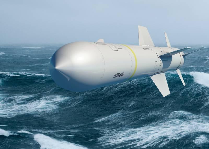Ракеты «Гарпун» возвращаются на американские субмарины спустя четверть века
