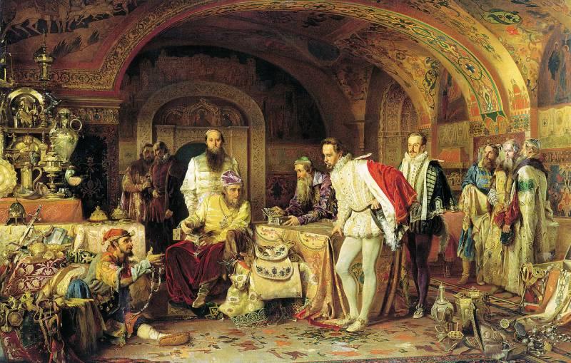 Россия и Англия: неблестящая изоляция 1553-1689 гг.