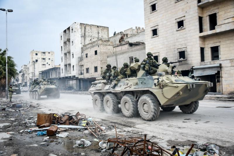 Война в Сирии вновь разгорается