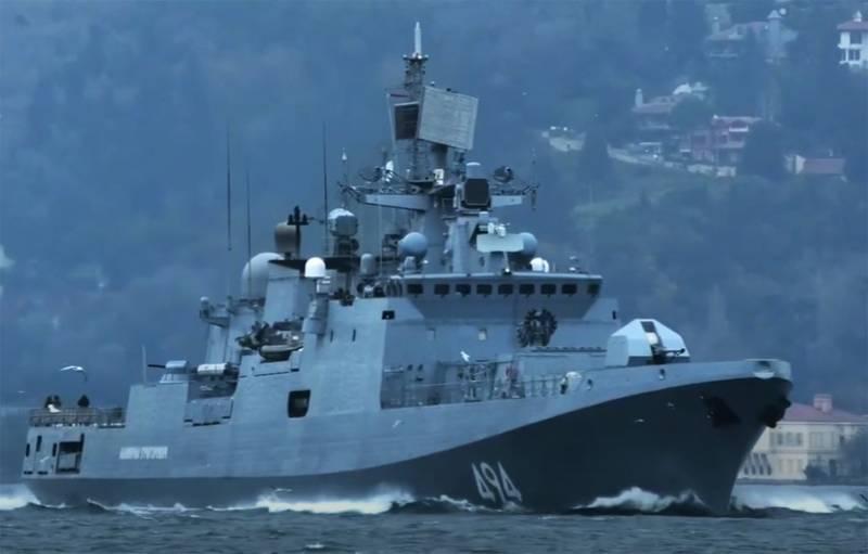 Российский боевой корабль впервые в истории РФ вошёл в Порт-Судан, где появится пункт МТО ВМФ России