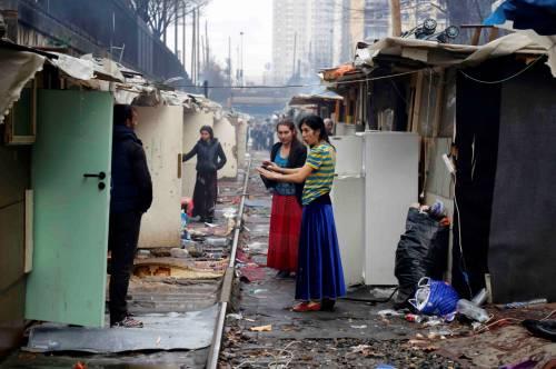 bidonvilles à paris