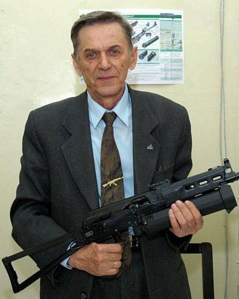 Pistolet mitrailleur Kalachnikov. PPK-20