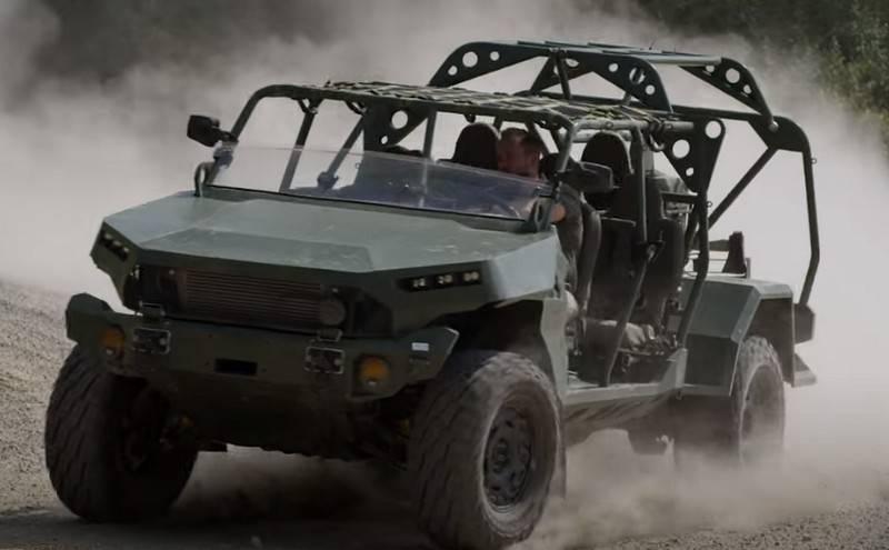 미국에서 시작된 새로운 보병 용 경 SUV 인 Infantry Squad Vehicles