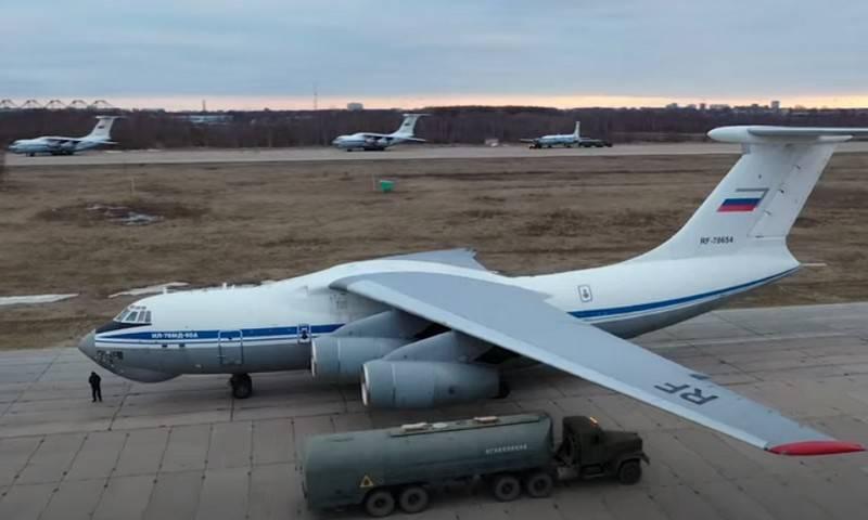 """""""Nível - 10 aeronaves por ano"""": Shoigu nomeou o número de Il-76MD-90A planejado para entrega às Forças Aeroespaciais"""
