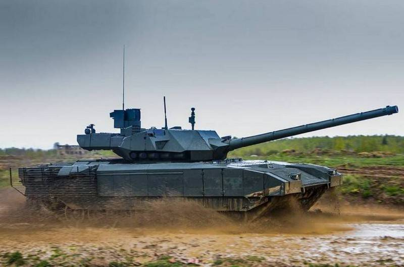 """Shoigu called the timing of the entry into the troops of military equipment on the platform """"Armata"""""""