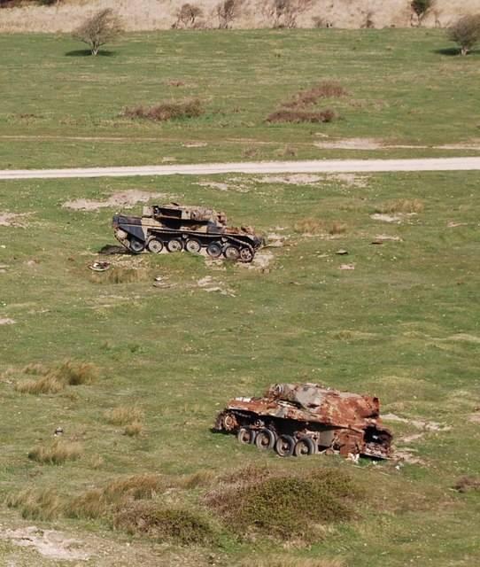 Танк-мишень Chiftain Crazy Horse