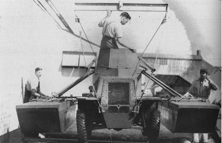 Легкий бронеавтомобиль Morris Salamander на замену мотоциклу с пулеметом