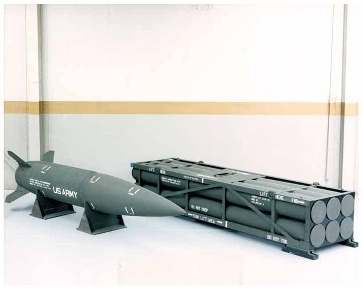 美国和国外的导弹综合系统ATACMS