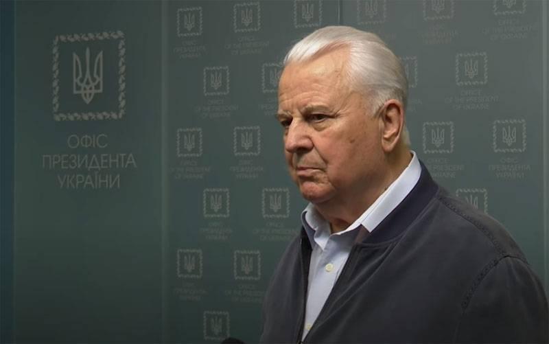 Kravchuk : 러시아는 Donbass의 평화를 원하지 않습니다