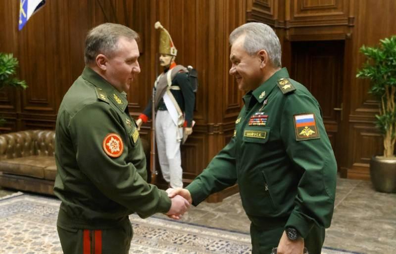 러시아와 벨로루시는 군사 합동 훈련을 위해 XNUMX 개의 훈련 센터를 열기로 합의했습니다.