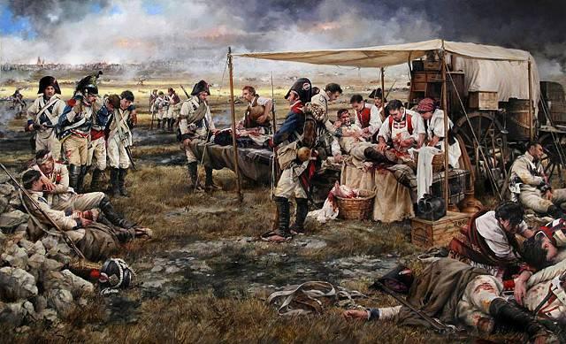 Медицинская служба Великой армии Наполеона: госпитали