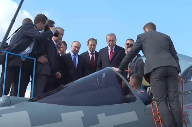 Die Türkei erwägt den Kauf russischer Su-35- und Su-57-Jäger