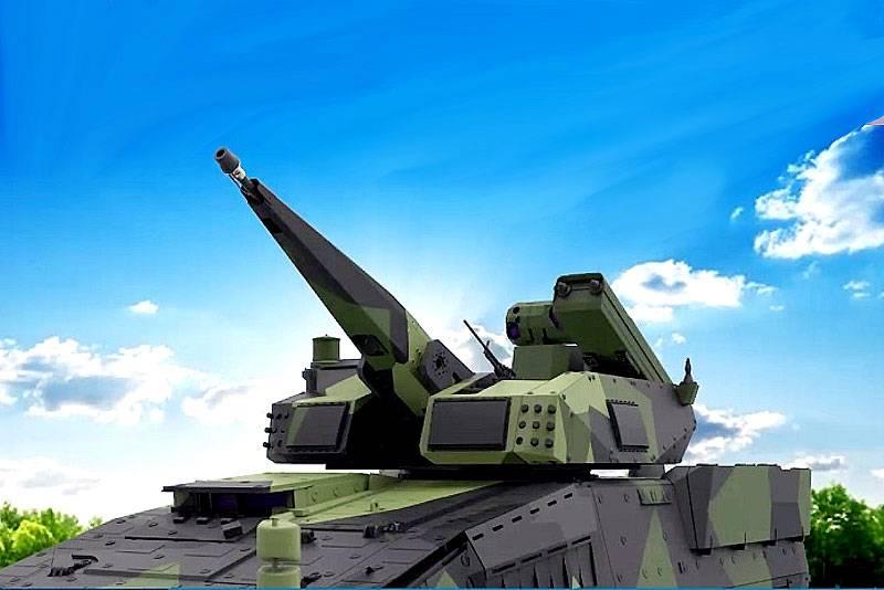 Módulo de defesa aérea ativa Rheinmetall Skyranger 30