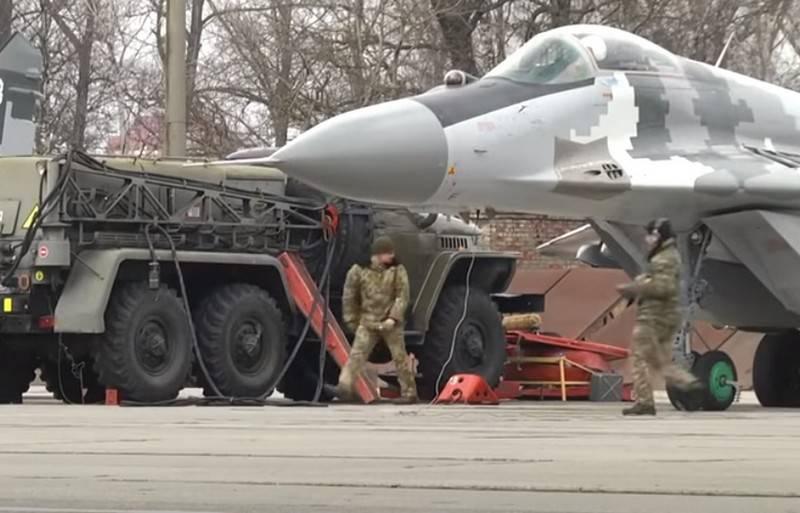 """""""Provavelmente será anulado"""": oficial ucraniano abalroou um caça MiG-29 das Forças Armadas da Ucrânia em um carro"""