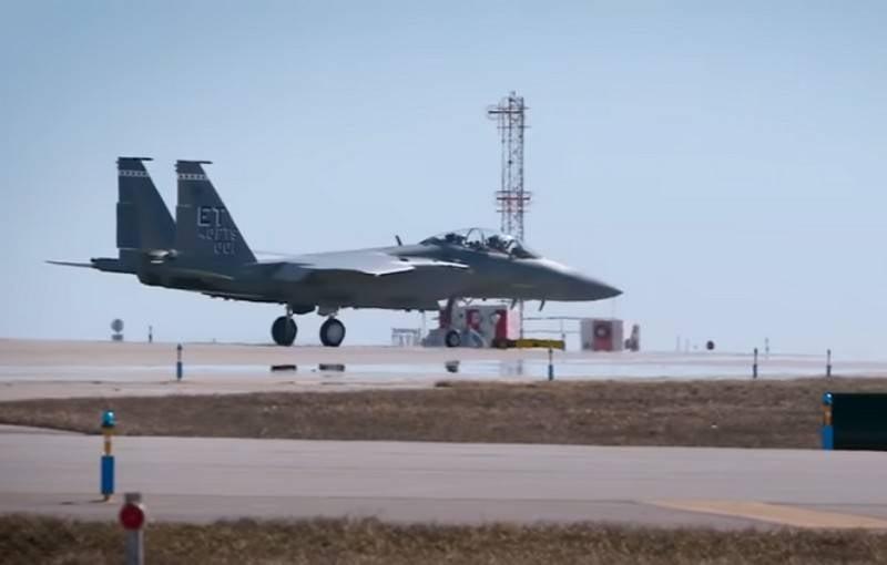 İlk ağır silahlı F-15EX savaşçısı ABD Hava Kuvvetleri ile hizmete girdi.