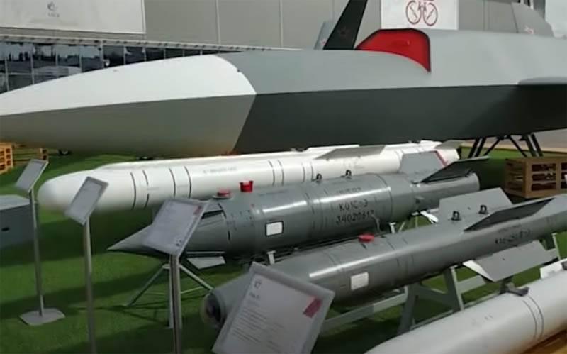 """攻击无人机""""雷霆""""将能够使用航空炸弹KAB-500"""
