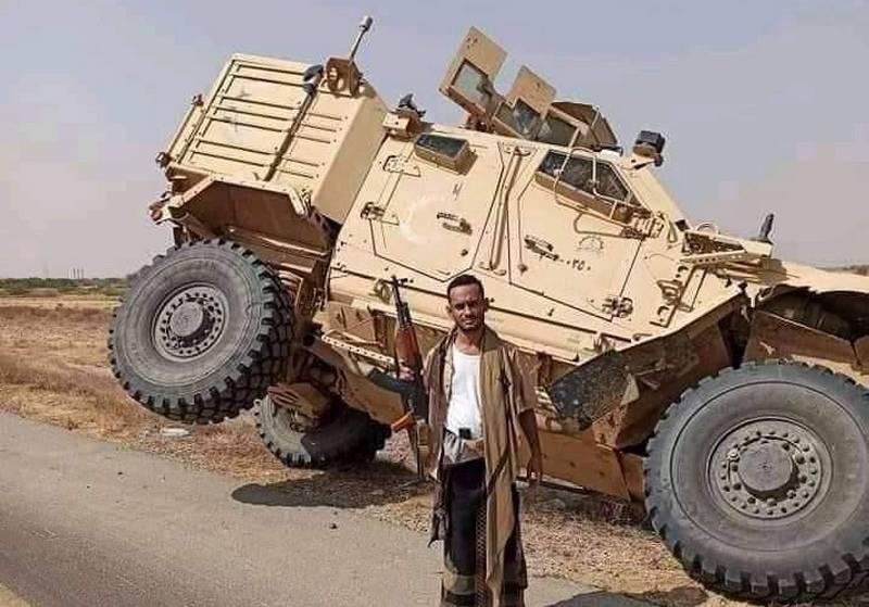 Sul web sono apparse le immagini del MRAP Oshkosh M-ATV della coalizione araba catturate dagli Houthi nello Yemen