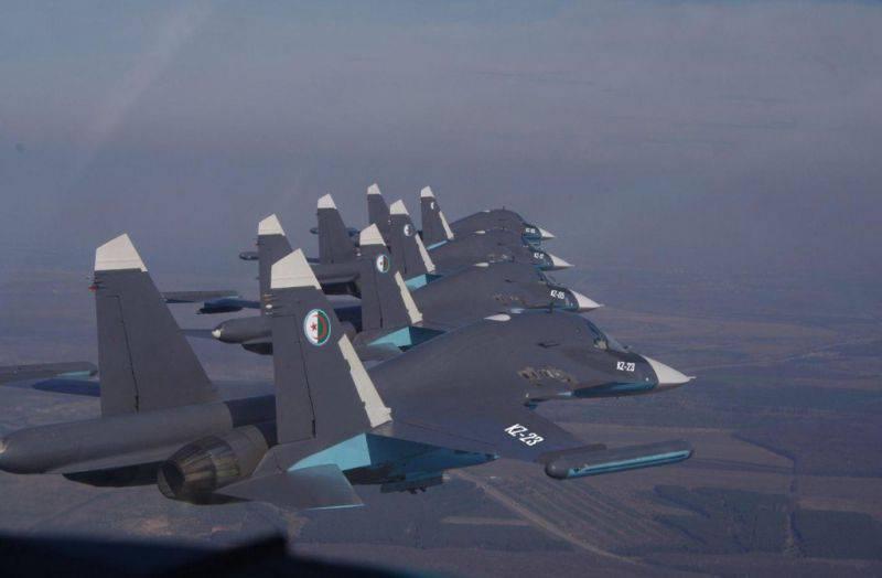 Scramble: l'Algérie achète des bombardiers de première ligne russes Su-34