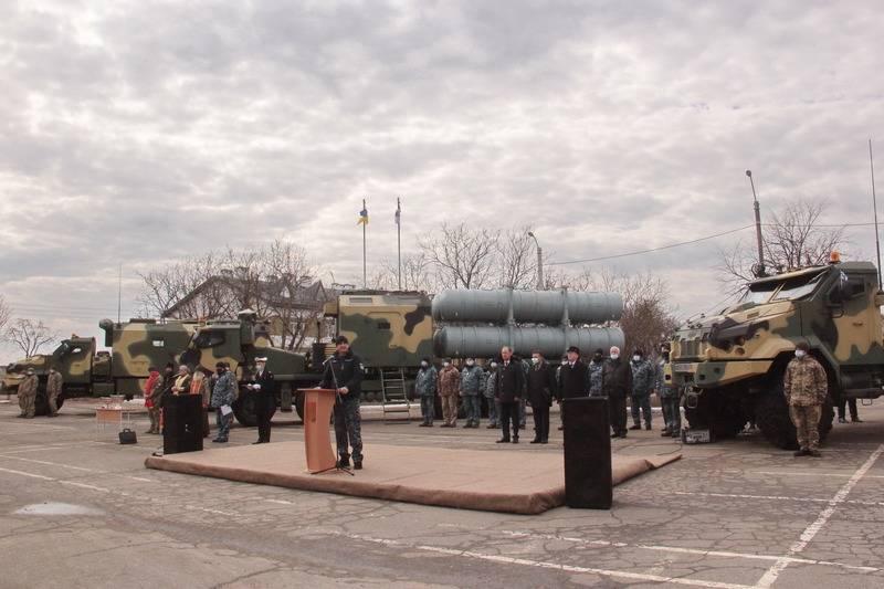 ВМС Украины получили опытный образец ракетного комплекса «Нептун»