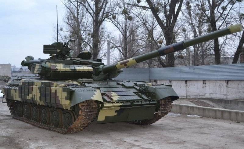 Партия модернизированных танков Т-64БВ поступила на вооружение ВСУ