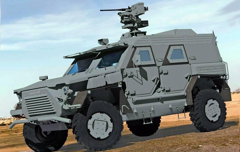 Das Verteidigungsministerium der Ukraine benannte die Unternehmen, die einen neuen SUV für die Streitkräfte der Ukraine bauen durften
