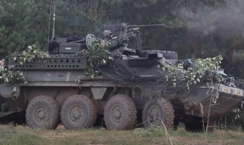 """""""Por la seguridad de un aliado de la OTAN"""": Estados Unidos suministrará a Macedonia del Norte un vehículo blindado de transporte de personal Stryker"""
