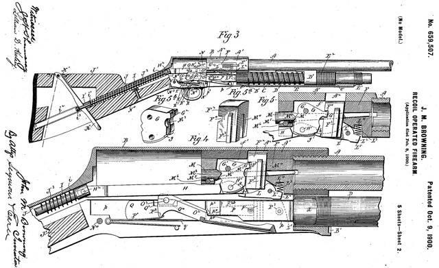 Уникальные конструкции Браунинга. Начнём с ружья А-5…